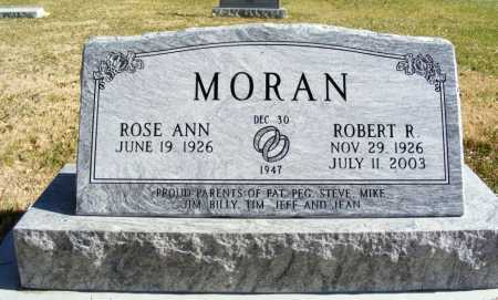MORAN, ROBERT R. - Box Butte County, Nebraska | ROBERT R. MORAN - Nebraska Gravestone Photos