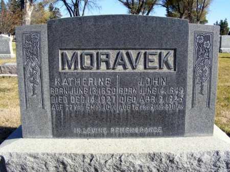 MORAVEK, KATHERINE - Box Butte County, Nebraska | KATHERINE MORAVEK - Nebraska Gravestone Photos