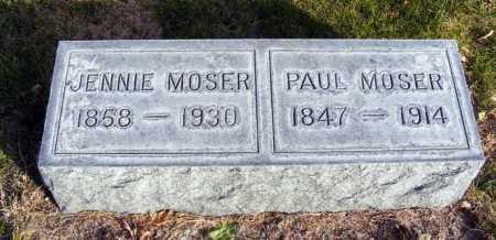 MOSER, PAUL - Box Butte County, Nebraska | PAUL MOSER - Nebraska Gravestone Photos