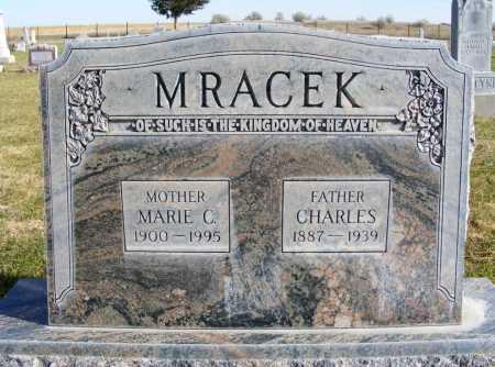 MRACEK, CHARLES - Box Butte County, Nebraska | CHARLES MRACEK - Nebraska Gravestone Photos