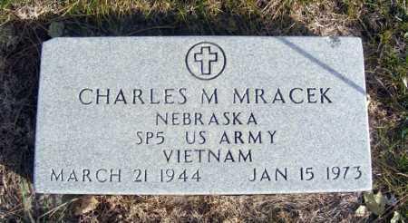 MRACEK, CHARLES M. - Box Butte County, Nebraska | CHARLES M. MRACEK - Nebraska Gravestone Photos