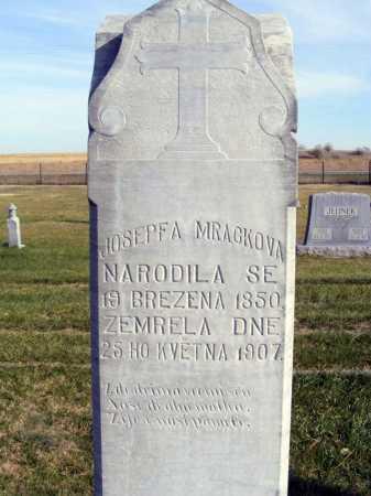 MRACKOVA, JOSEPF A. - Box Butte County, Nebraska | JOSEPF A. MRACKOVA - Nebraska Gravestone Photos