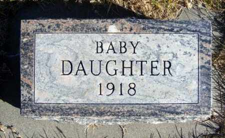 MUNDT, BABY DAUGHTER - Box Butte County, Nebraska | BABY DAUGHTER MUNDT - Nebraska Gravestone Photos