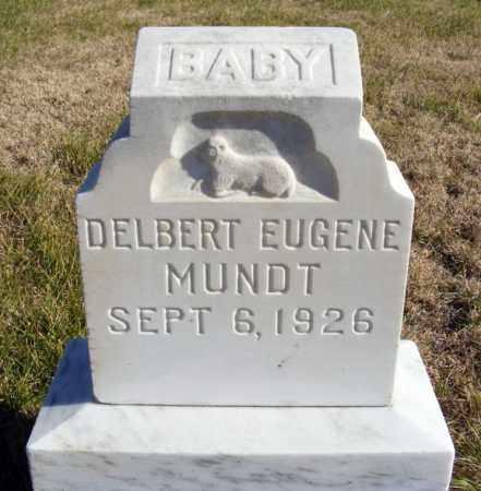 MUNDT, DELBERT EUGENE - Box Butte County, Nebraska | DELBERT EUGENE MUNDT - Nebraska Gravestone Photos