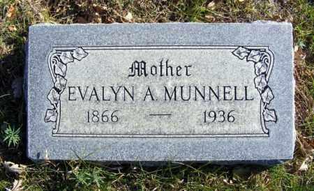 MUNNELL, EVALYN A. - Box Butte County, Nebraska | EVALYN A. MUNNELL - Nebraska Gravestone Photos