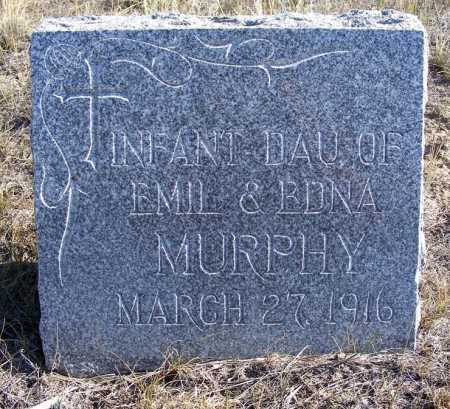 MURPHY, INFANT DAUGHTER - Box Butte County, Nebraska   INFANT DAUGHTER MURPHY - Nebraska Gravestone Photos