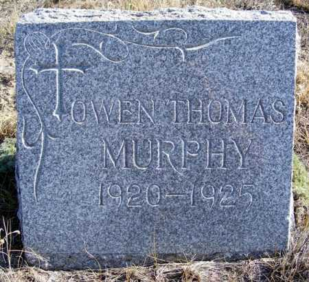 MURPHY, OWEN THOMAS - Box Butte County, Nebraska   OWEN THOMAS MURPHY - Nebraska Gravestone Photos