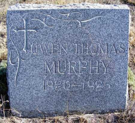 MURPHY, OWEN THOMAS - Box Butte County, Nebraska | OWEN THOMAS MURPHY - Nebraska Gravestone Photos