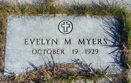 MYERS, EVELYN M. - Box Butte County, Nebraska | EVELYN M. MYERS - Nebraska Gravestone Photos