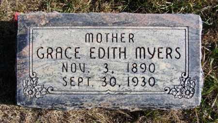 MYERS, GRACE EDITH - Box Butte County, Nebraska | GRACE EDITH MYERS - Nebraska Gravestone Photos