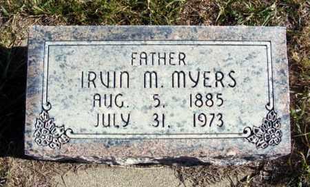 MYERS, IRVIN M. - Box Butte County, Nebraska | IRVIN M. MYERS - Nebraska Gravestone Photos
