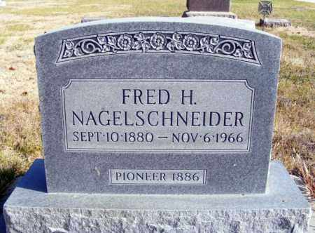 NAGELSCHNEIDER, FRED H. - Box Butte County, Nebraska | FRED H. NAGELSCHNEIDER - Nebraska Gravestone Photos