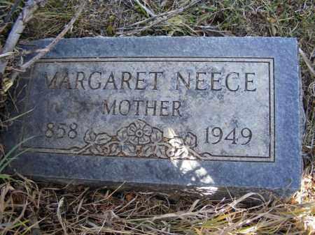 NEECE, MARGARET - Box Butte County, Nebraska | MARGARET NEECE - Nebraska Gravestone Photos