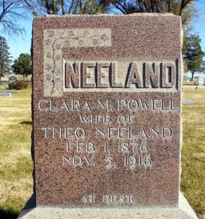 NEELAND, CLARA M. - Box Butte County, Nebraska | CLARA M. NEELAND - Nebraska Gravestone Photos