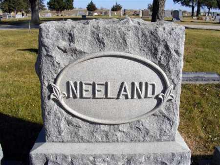NEELAND, FAMILY - Box Butte County, Nebraska | FAMILY NEELAND - Nebraska Gravestone Photos