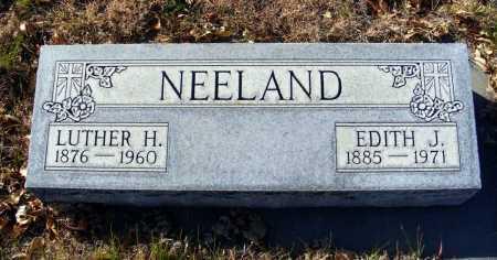 NEELAND, LUTHER H. - Box Butte County, Nebraska | LUTHER H. NEELAND - Nebraska Gravestone Photos