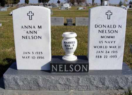 NELSON, DONALD N. - Box Butte County, Nebraska | DONALD N. NELSON - Nebraska Gravestone Photos