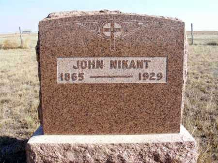 NIKANT, JOHN - Box Butte County, Nebraska   JOHN NIKANT - Nebraska Gravestone Photos