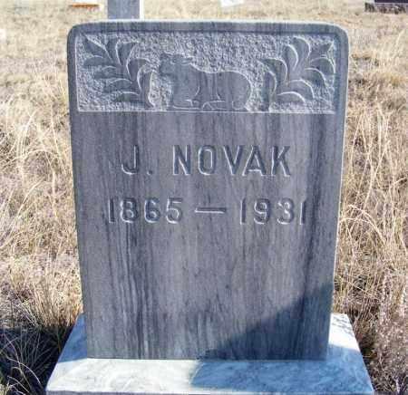 NOVAK, J. - Box Butte County, Nebraska   J. NOVAK - Nebraska Gravestone Photos