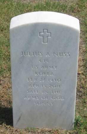 NUSS, JULIUS  A. - Box Butte County, Nebraska   JULIUS  A. NUSS - Nebraska Gravestone Photos