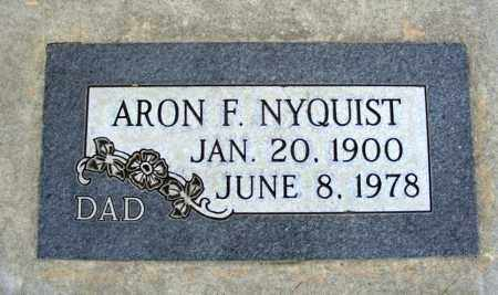 NYQUIST, ARON F. - Box Butte County, Nebraska   ARON F. NYQUIST - Nebraska Gravestone Photos