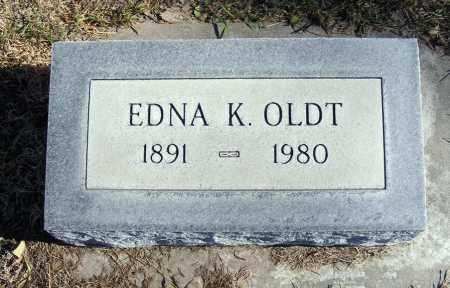 OLDT, EDNA K. - Box Butte County, Nebraska   EDNA K. OLDT - Nebraska Gravestone Photos