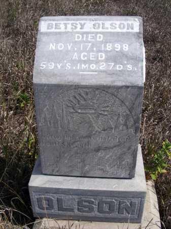 OLSON, BETSY - Box Butte County, Nebraska   BETSY OLSON - Nebraska Gravestone Photos