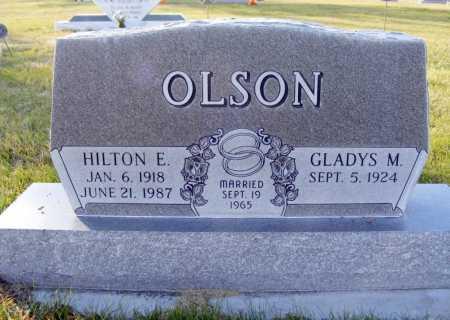 OLSON, GLADYS M. - Box Butte County, Nebraska | GLADYS M. OLSON - Nebraska Gravestone Photos