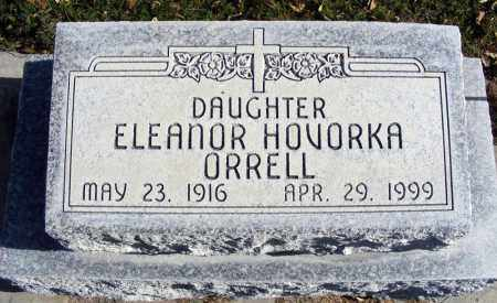 HOVORKA ORRELL, ELEANOR - Box Butte County, Nebraska | ELEANOR HOVORKA ORRELL - Nebraska Gravestone Photos