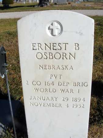 OSBORN, ERNEST B. - Box Butte County, Nebraska   ERNEST B. OSBORN - Nebraska Gravestone Photos