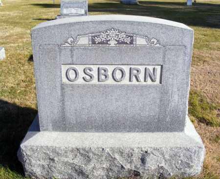 OSBORN, FAMILY - Box Butte County, Nebraska   FAMILY OSBORN - Nebraska Gravestone Photos