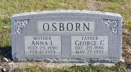OSBORN, ANNA L. - Box Butte County, Nebraska   ANNA L. OSBORN - Nebraska Gravestone Photos
