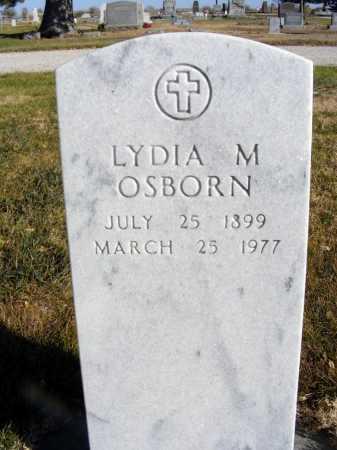 OSBORN, LYDIA M. - Box Butte County, Nebraska | LYDIA M. OSBORN - Nebraska Gravestone Photos