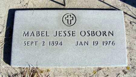 OSBORN, MABEL JESSE - Box Butte County, Nebraska | MABEL JESSE OSBORN - Nebraska Gravestone Photos