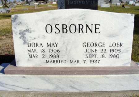 OSBORNE, GEORGE LOER - Box Butte County, Nebraska | GEORGE LOER OSBORNE - Nebraska Gravestone Photos