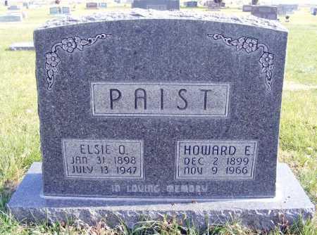 PAIST, ELSIE O. - Box Butte County, Nebraska   ELSIE O. PAIST - Nebraska Gravestone Photos