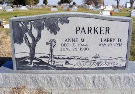 PARKER, ANNE M. - Box Butte County, Nebraska | ANNE M. PARKER - Nebraska Gravestone Photos