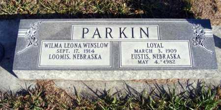 WINSLOW PARKIN, WILMA LEONA - Box Butte County, Nebraska | WILMA LEONA WINSLOW PARKIN - Nebraska Gravestone Photos