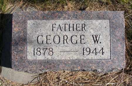 PARKINS, GEORGE W. - Box Butte County, Nebraska | GEORGE W. PARKINS - Nebraska Gravestone Photos