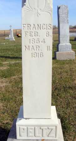 PELTZ, FRANCIS - Box Butte County, Nebraska | FRANCIS PELTZ - Nebraska Gravestone Photos