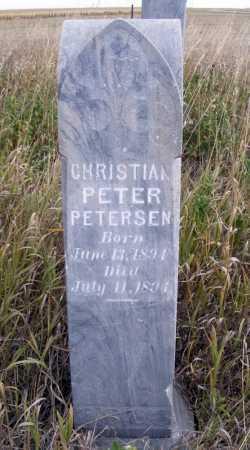 PETERSEN, CHRISTIAN PETER - Box Butte County, Nebraska | CHRISTIAN PETER PETERSEN - Nebraska Gravestone Photos