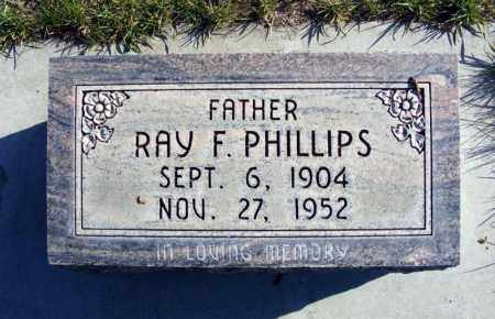 PHILLIPS, RAY F. - Box Butte County, Nebraska | RAY F. PHILLIPS - Nebraska Gravestone Photos