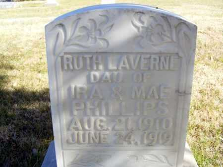 PHILLIPS, RUTH LAVERNE - Box Butte County, Nebraska | RUTH LAVERNE PHILLIPS - Nebraska Gravestone Photos