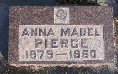 PIERCE, ANNA MABEL - Box Butte County, Nebraska   ANNA MABEL PIERCE - Nebraska Gravestone Photos