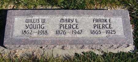 YOUNG, WILLIS W. - Box Butte County, Nebraska | WILLIS W. YOUNG - Nebraska Gravestone Photos