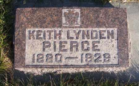 PIERCE, KEITH LYNDEN - Box Butte County, Nebraska | KEITH LYNDEN PIERCE - Nebraska Gravestone Photos
