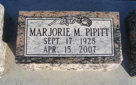 PIPITT, MARJORIE M. - Box Butte County, Nebraska | MARJORIE M. PIPITT - Nebraska Gravestone Photos