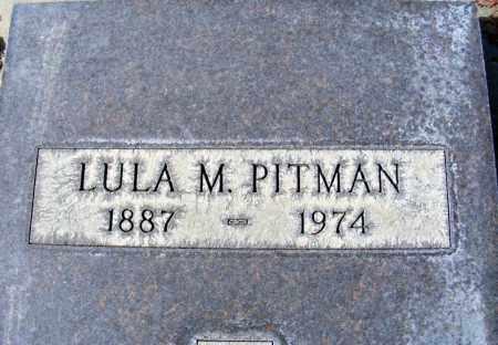 PITMAN, LULA M. - Box Butte County, Nebraska | LULA M. PITMAN - Nebraska Gravestone Photos