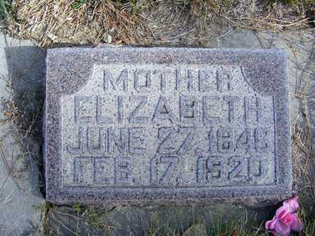 PITTS, ELIZABETH - Box Butte County, Nebraska | ELIZABETH PITTS - Nebraska Gravestone Photos