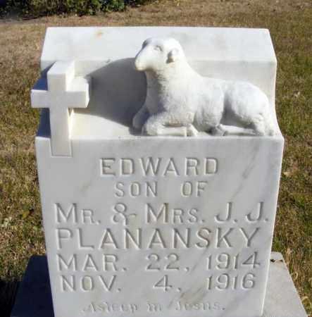 PLANANSKY, EDWARD - Box Butte County, Nebraska | EDWARD PLANANSKY - Nebraska Gravestone Photos